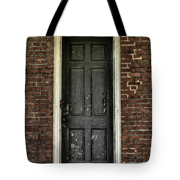 Locked Forever Tote Bag by Zawhaus Photography