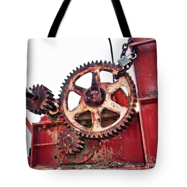 Tote Bag featuring the photograph Locked In History by Stephen Mitchell