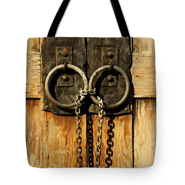 Locked Out Tote Bag