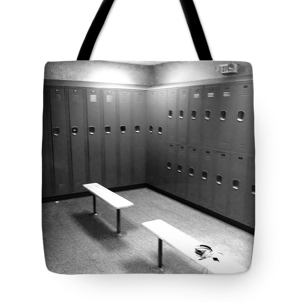 Locker Room Tote Bag by WaLdEmAr BoRrErO
