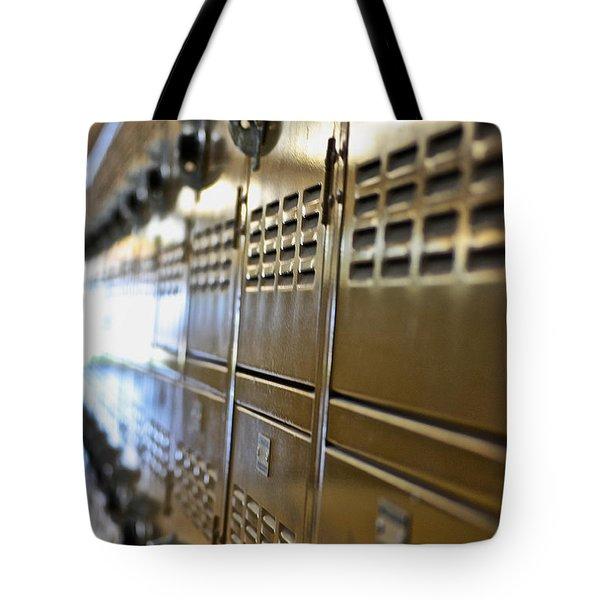 Lockers Tote Bag