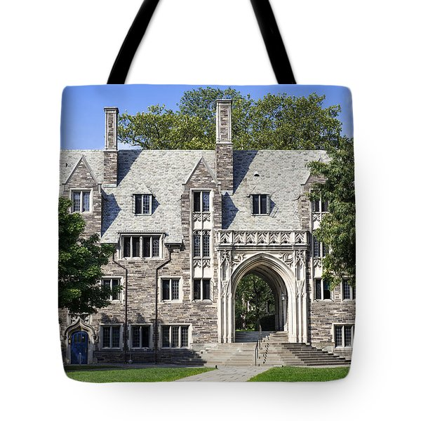 Lockhart Hall Princeton  Tote Bag by John Greim