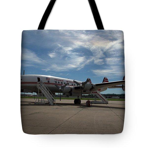 Lockheed Constellation Super G Tote Bag