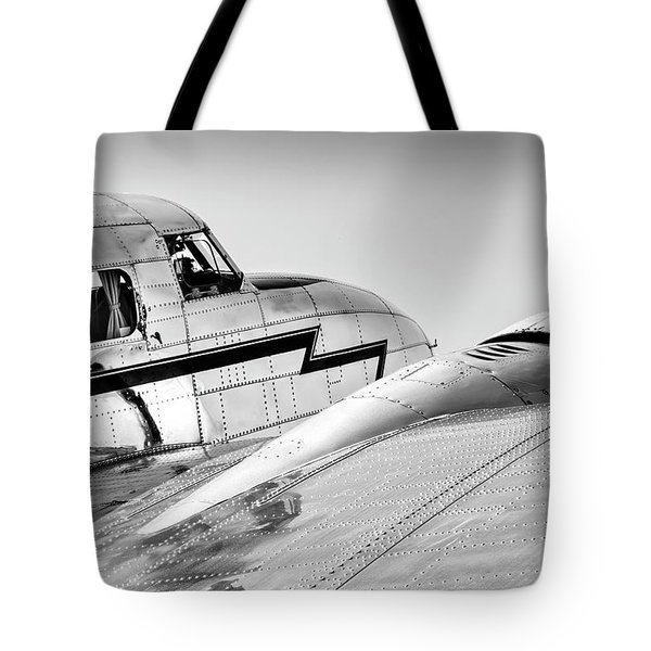 Lockheed Electra 12 Tote Bag