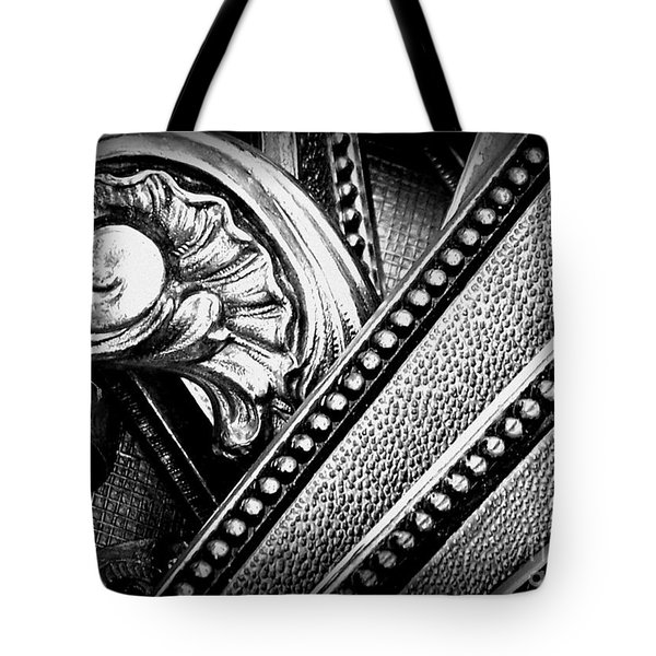 Tote Bag featuring the photograph Locks by Sylvie Leandre