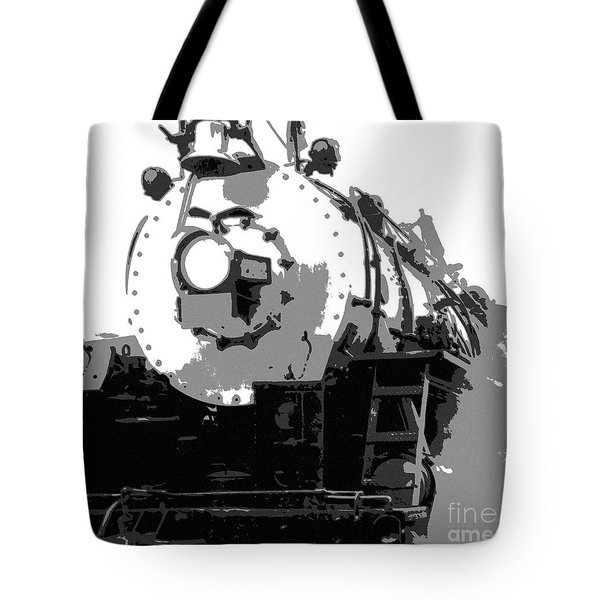 Locomotion Tote Bag by Richard Rizzo