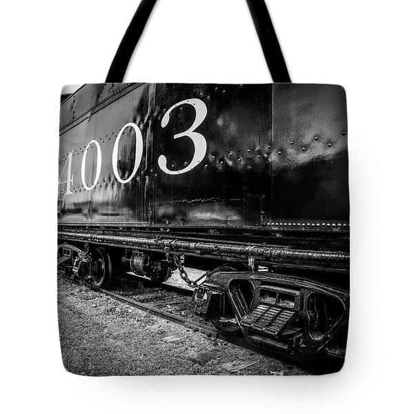 Locomotive Engine Tote Bag