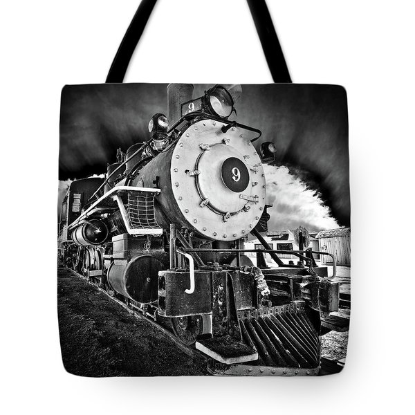 Locomotive Nine Tote Bag by Marius Sipa