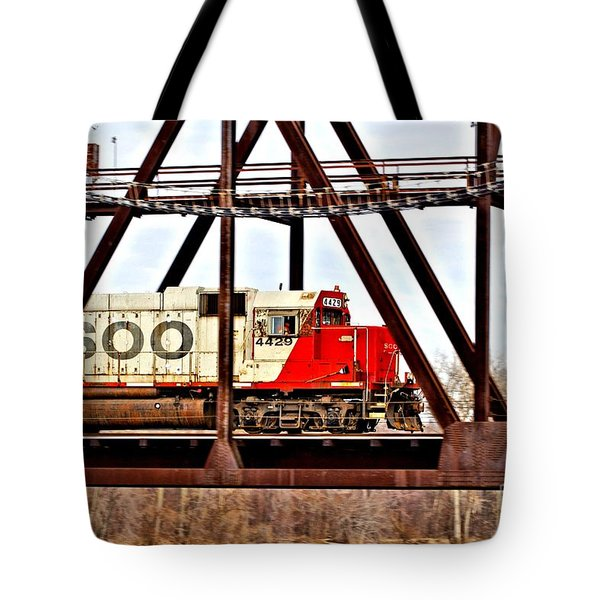 Locomotive Number 4429 Tote Bag