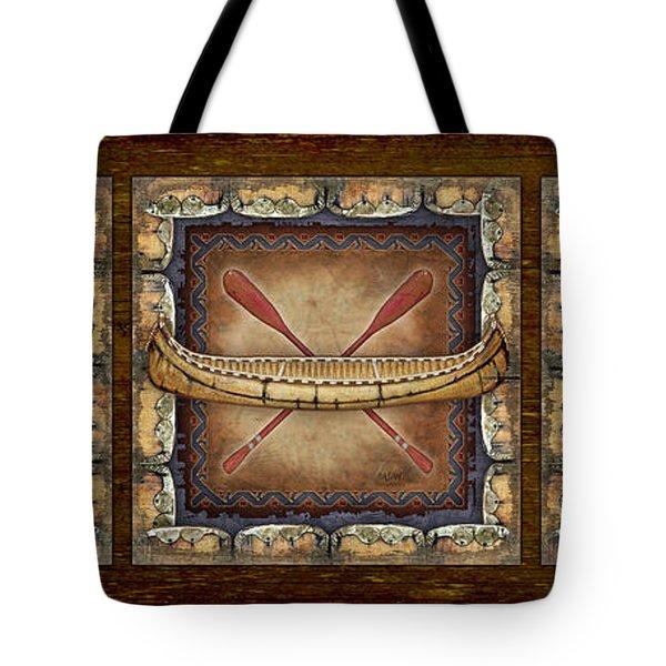 Lodge Panel Tote Bag