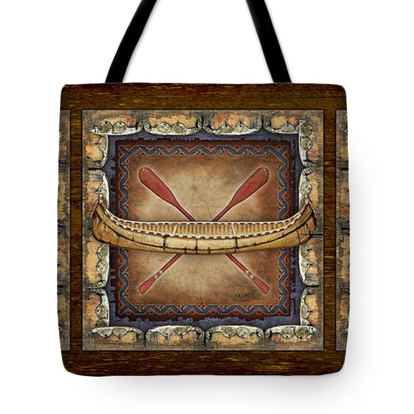 Lodge Panel Tote Bag