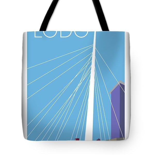 Lodo/blue Tote Bag