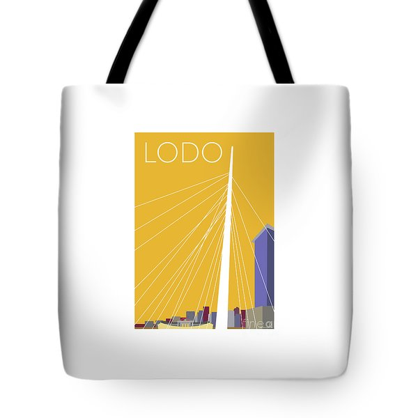 Lodo/gold Tote Bag