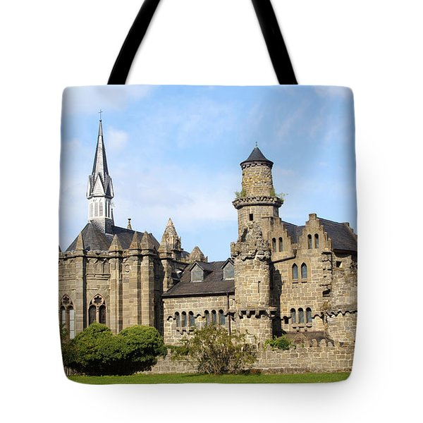 Loewenburg - Lionscastle Near Kassel, Germany Tote Bag