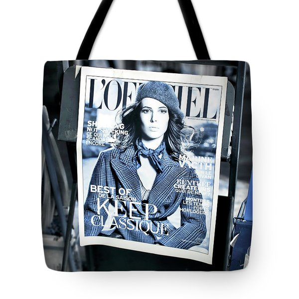 L'officiel Tote Bag