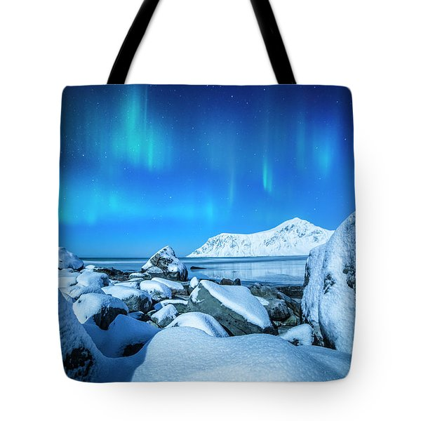 Lofoten Aurora Tote Bag