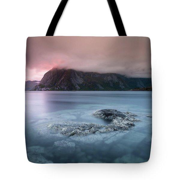 Lofoten Sunset Tote Bag