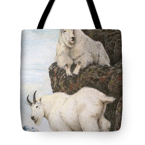 Lofty Perch Tote Bag