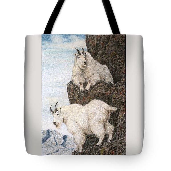 Lofty Perch Tote Bag