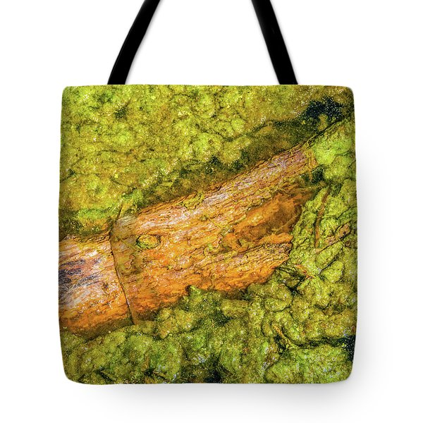 Log In Algae Tote Bag