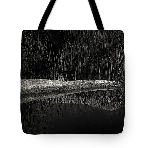 Log In The Lake Tote Bag