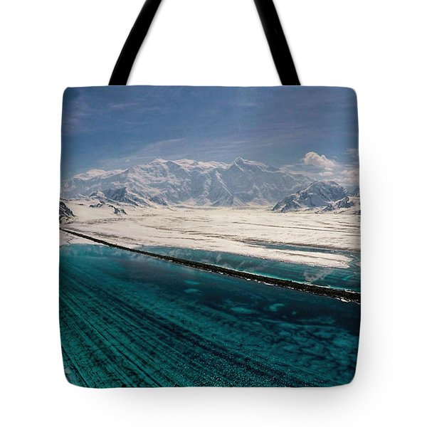 Logan Glacier Meltwater Tote Bag