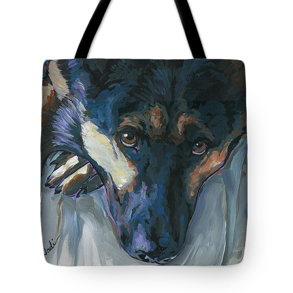 Logan Tote Bag by Nadi Spencer