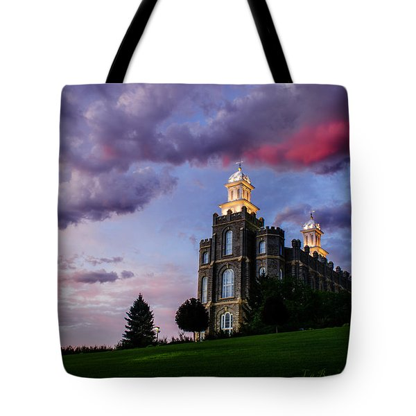 Logan Temple Heaven's Light Tote Bag