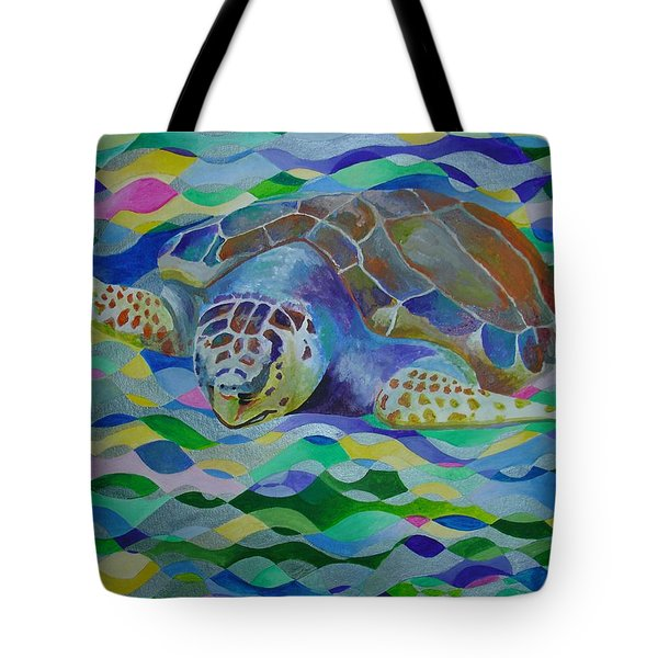 Loggerhead Turtle Tote Bag