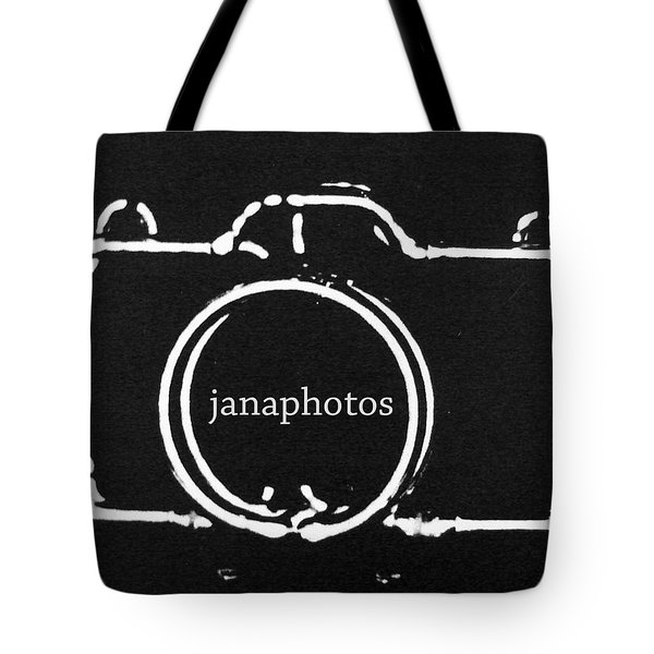 Tote Bag featuring the digital art Logo by Jana Russon