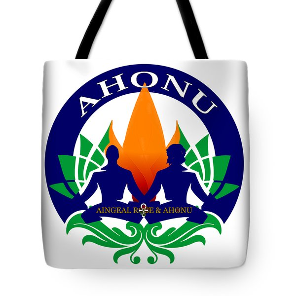 Logo Of Ahonu.com Tote Bag