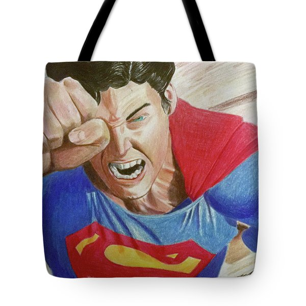 Lois' Death Tote Bag by Michael McKenzie