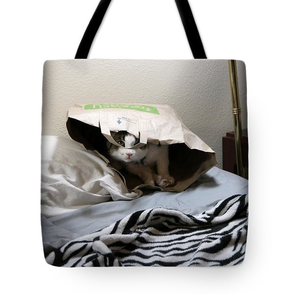 Lois's Favorite Cat Picture In The Whole Wide World Tote Bag