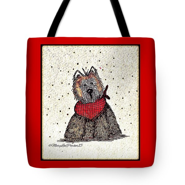 Lola The Dog Tote Bag