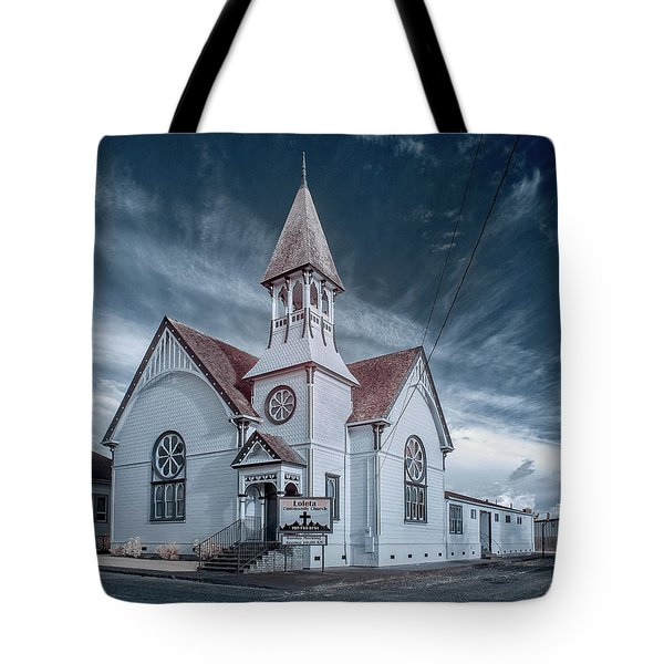 Tote Bag featuring the photograph Loleta Church by Greg Nyquist