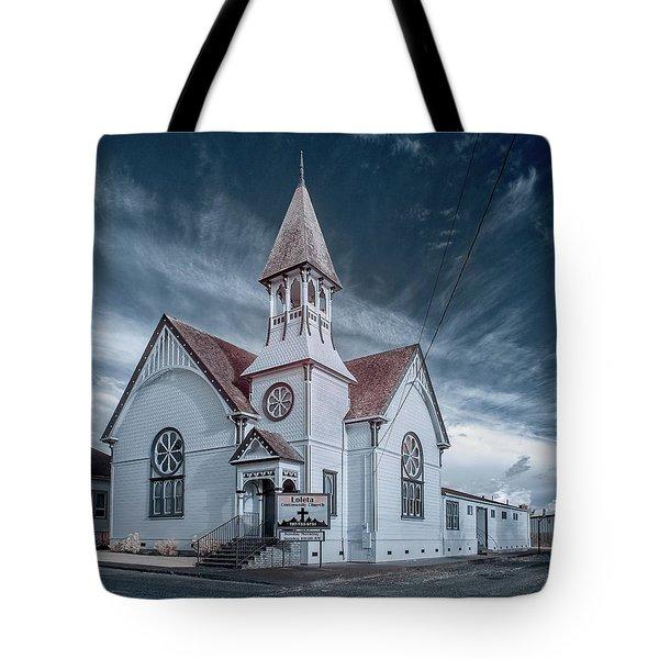 Loleta Church Tote Bag by Greg Nyquist