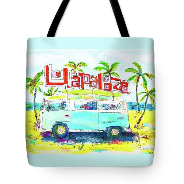 Lollapalooza Tote Bag