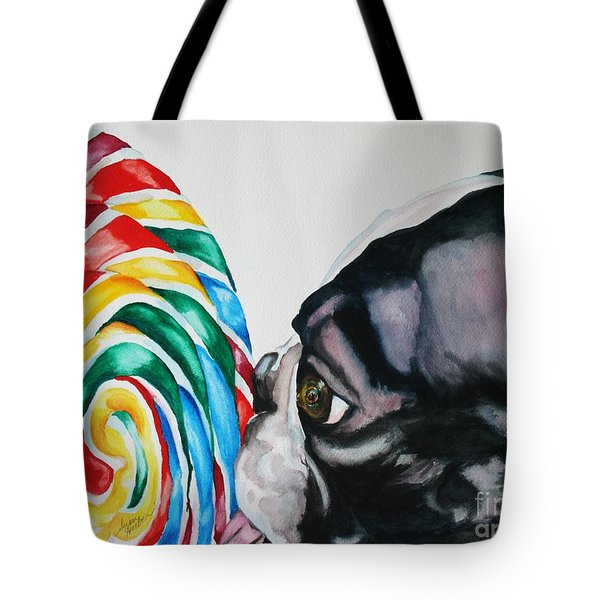 Lolli Pup Tote Bag