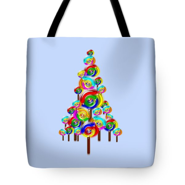 Lollipop Tree Tote Bag