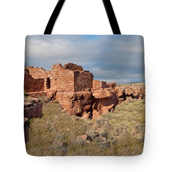 Lomaki Pueblo Ruins Tote Bag