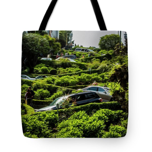 Lombard Street Tote Bag