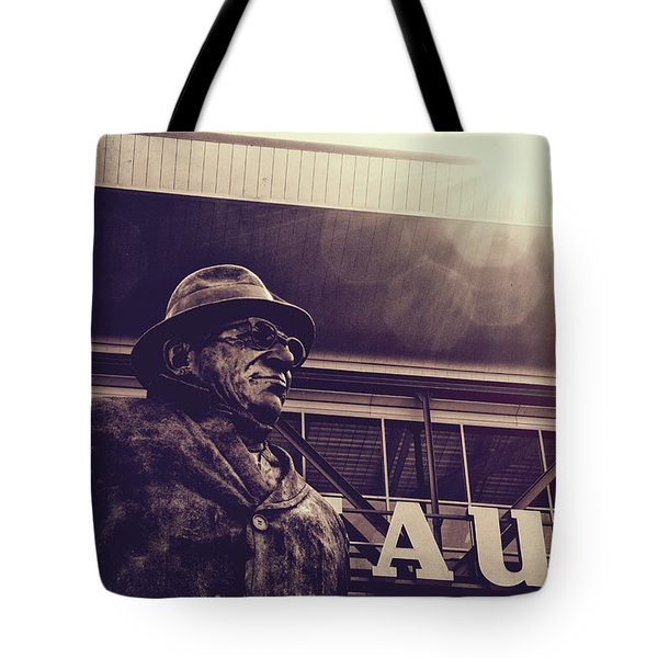 Lombardi - Shadow Of Greatness Tote Bag