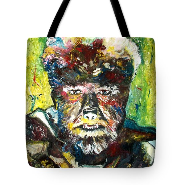 Lon Chaney Jr - Werewolf Tote Bag