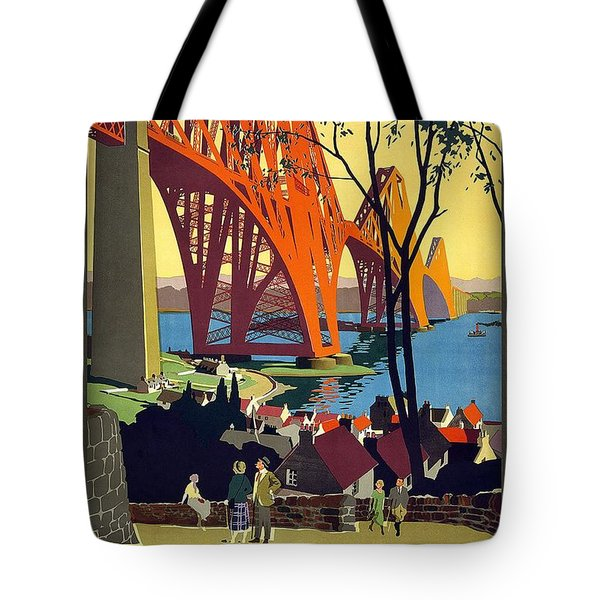 London And North Eastern Railway - Retro Travel Poster - Vintage Poster Tote Bag