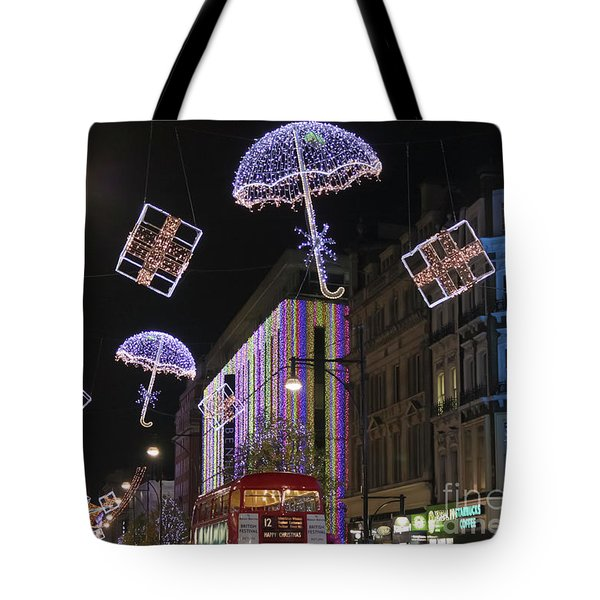 London At Christmas Tote Bag
