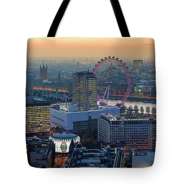 London At Sunset Tote Bag