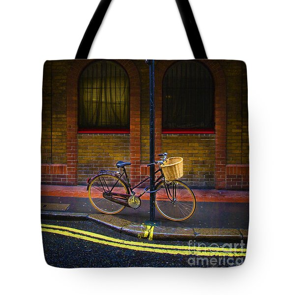 London Bicycle Tote Bag