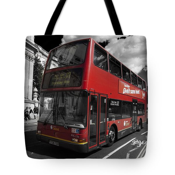 London Bus Tote Bag