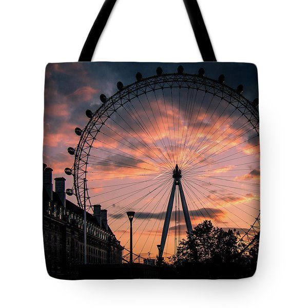 London Eye #1 Tote Bag