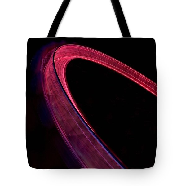 Tote Bag featuring the photograph London Eye At Night by Chris Feichtner